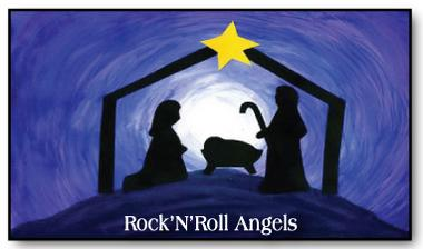 Children's Christmas Musical - rock and roll angels